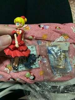 妮嘉尋親記 figure2個動漫精品美戰小櫻小魔女doremi
