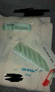 🚚 Off White Gradient SS19 LS