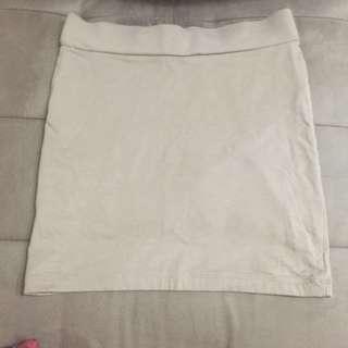 Forever 21 nude skirt