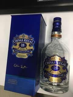 🚚 Chivas bottle with box