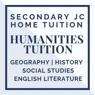 Humanities Tutor | English Literature Geography History and Social Studies SS |  Looking for Private Tutor |  Secondary A level JC Home Tuition | Humanities O level Tuition | Private Tuition Teacher | N O A Level School | Full Time Tutor | Sec 1 2 3 4 5