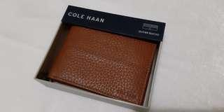 Authentic COLE HAAN Bill-fold Wallet