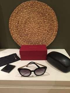 Preloved Authentic Salvatore Ferragamo Sunglasses - Kacamata Hitam SF