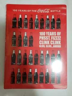 可口可樂 100週年 限量筆記簿