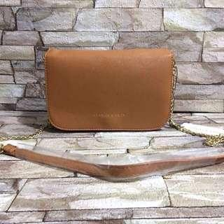 Charles And Keith Chain Sling Bag