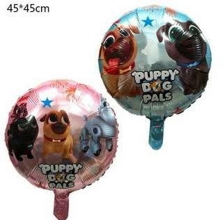 Puppy dog pals balloons