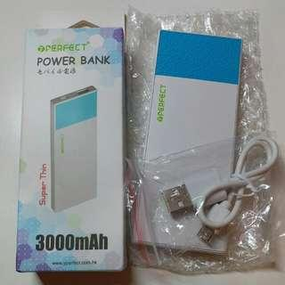 Perfect Power Bank (Super Thin) YP-3200 行動電源 充電器 尿袋 3000mAh