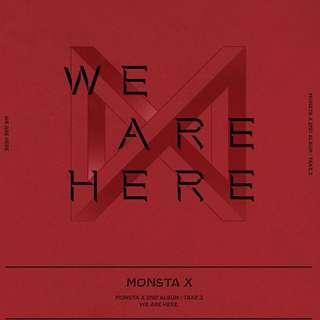 Monsta X - We are here album