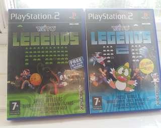 PS2 Taito Legend 1 & 2 集, 歐洲版 (只限九龍灣地鐵站交收)