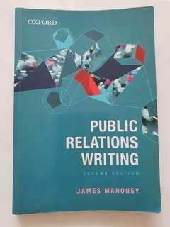Public Relations Writing (Second Edition)