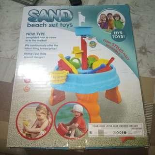 Sand beach set toys