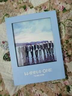 Wanna One Album To Be One Daniel Set.