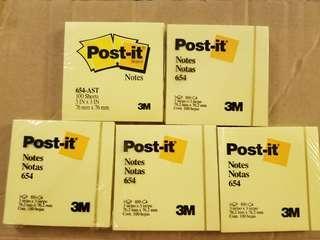 3M Post-it 654 (5叠)