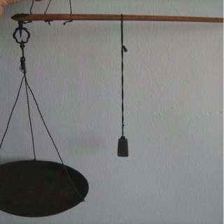 Antique Chinese Daching Weighing Scale