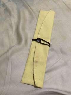 🚚 🌹二手帆布環保外出攜帶筷套