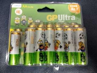 GP超霸鹼性AA電池20粒