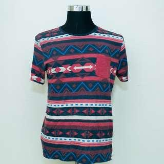 Authentic On The Byas Tribe / Aztec Pattern shirt