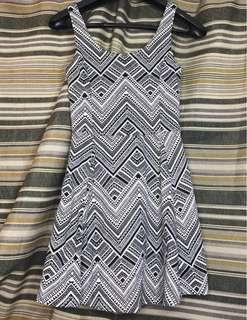 H&M Aztec Sleeveless Dress