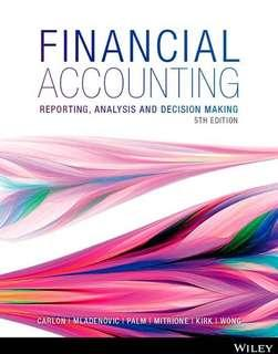 Financial Accounting Reporting 5th edition Wiley