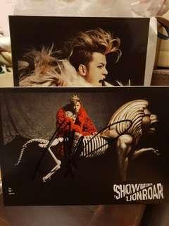 Autographed Show Luo 10th Album Lion Roar