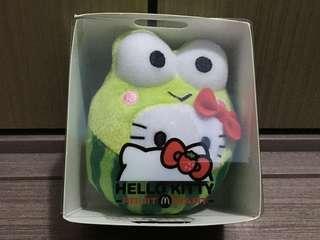 麥當勞 Keroppi Hello Kitty 西瓜 公仔