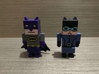 麥當勞 Batman Catwoman 公仔