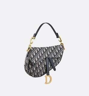 Dior Saddle Oblique