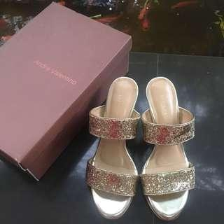 #CNY2019 Andre Valentino Gold Party Sandal / Shoes