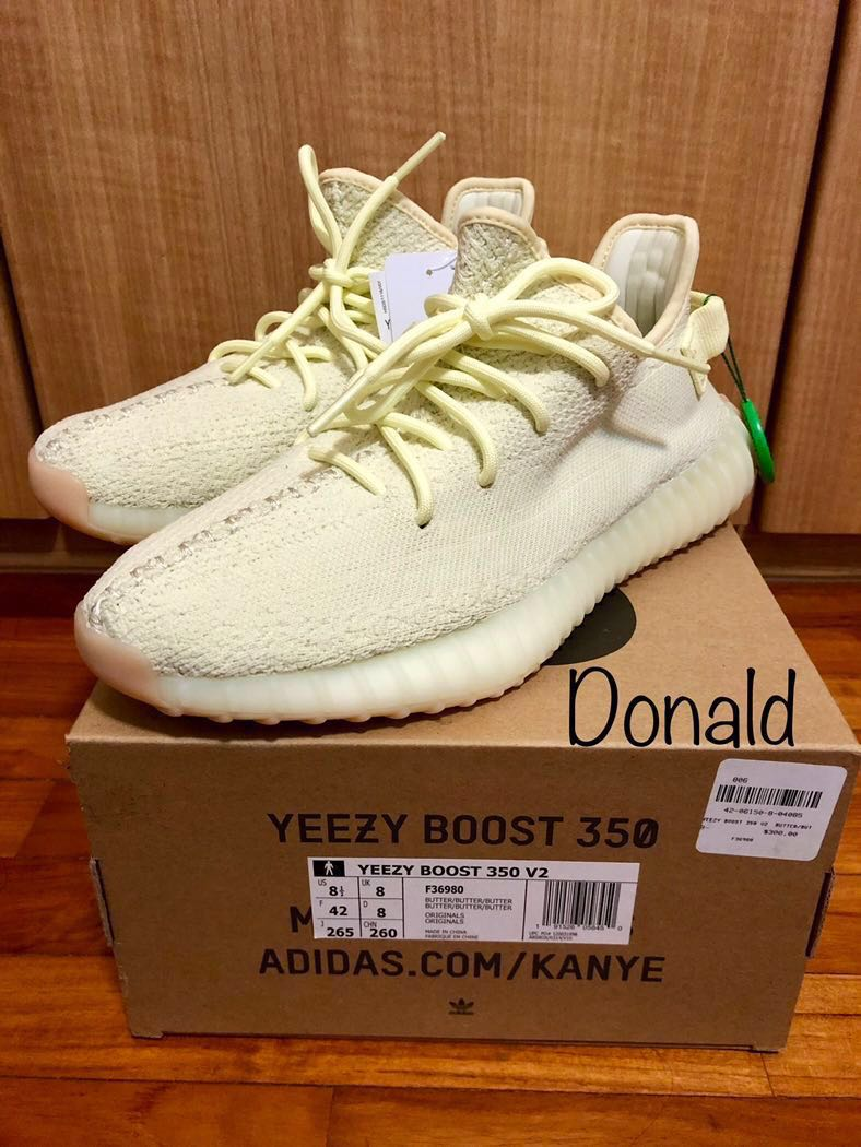 8c7ae5aa1326a Adidas Yeezy 350 V2 Butter