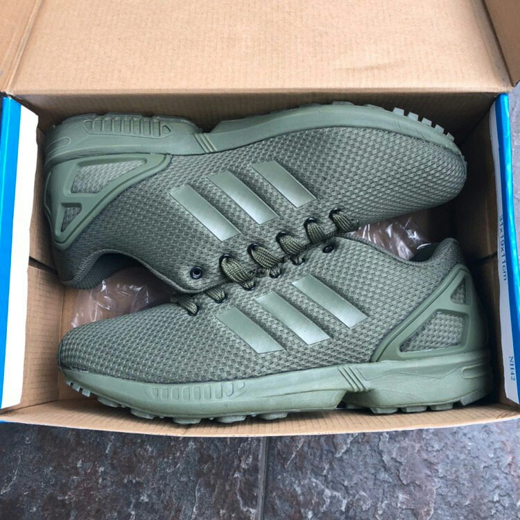 f0d9d6483e26d Adidas ZX Flux Army Green 😊, Men's Fashion, Footwear, Sneakers on ...