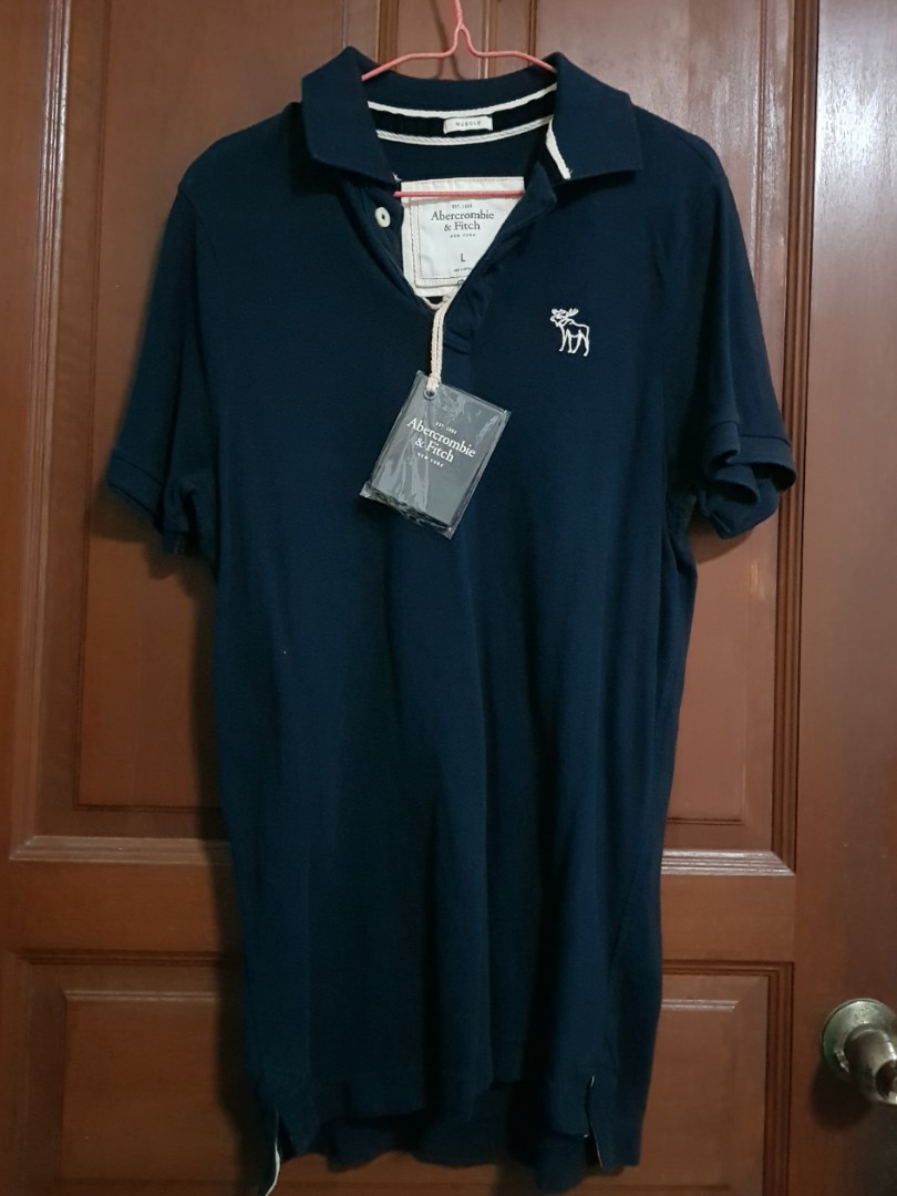dfb9f97f Abercrombie & Fitch Polo Tee, Men's Fashion, Clothes, Tops on Carousell