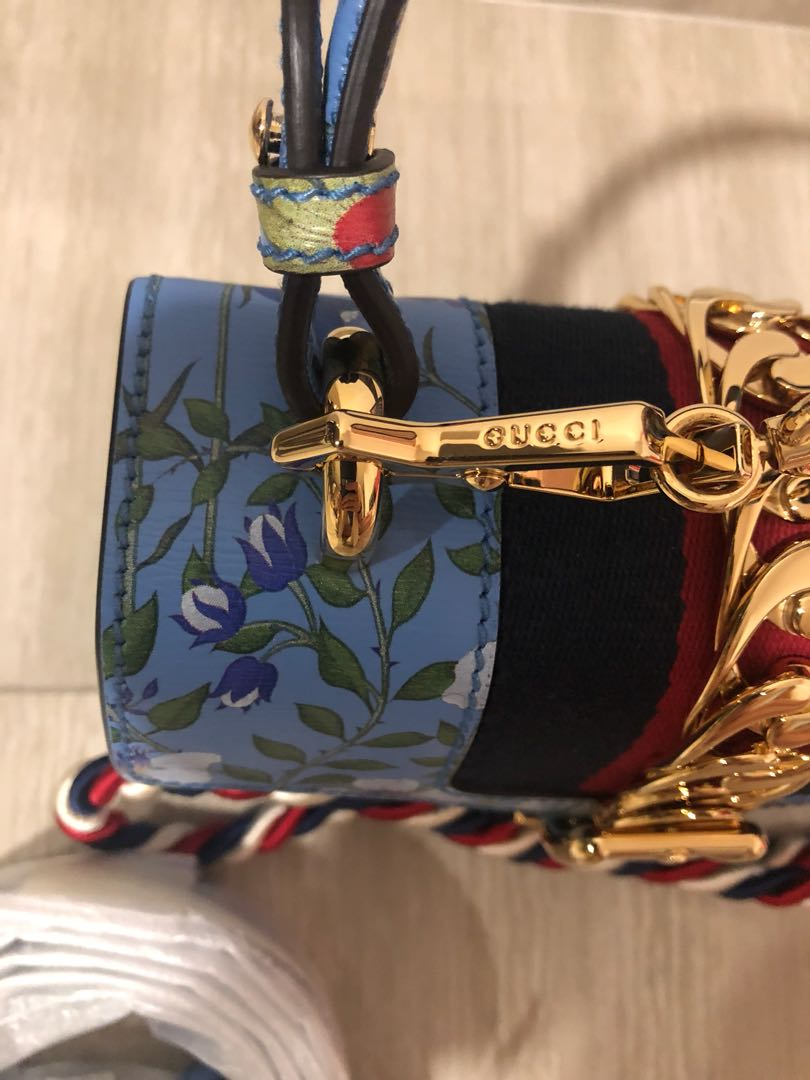aa641b696c22ab Authentic Gucci Sylvie Mini Top Handle, Women's Fashion, Bags & Wallets,  Handbags on Carousell