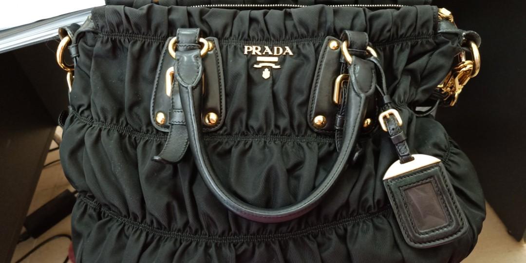 a138d87b7ba891 Authentic Prada Tessuto Gaufre BN1336, Luxury, Bags & Wallets ...