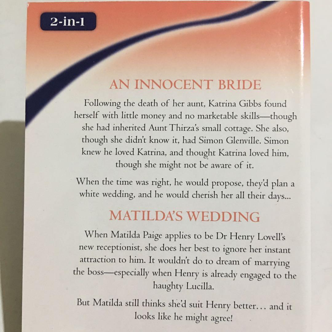 BETTY NEELS - 2in1 Ultimate Collection An Innocent Bride/ Matilda's Wedding