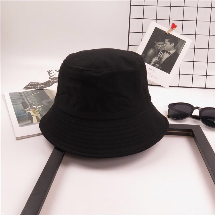 124e4ec660a InStock - Black Bucket Hat (Free Normal Mail)