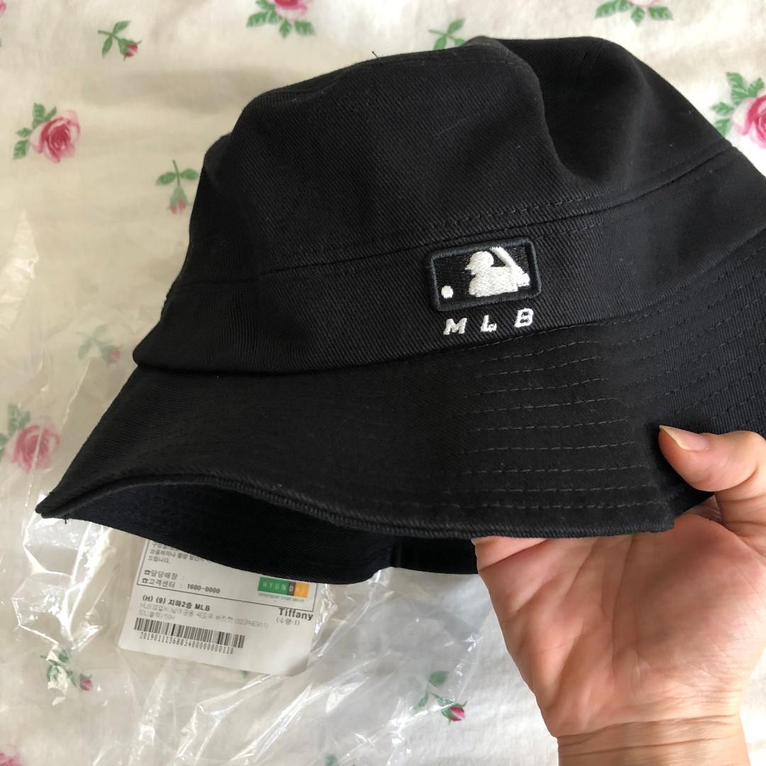 BNWT  MLB Korea - NY Bucket Hat -  50   Black size L (perfect for guys) 106a299c3e64