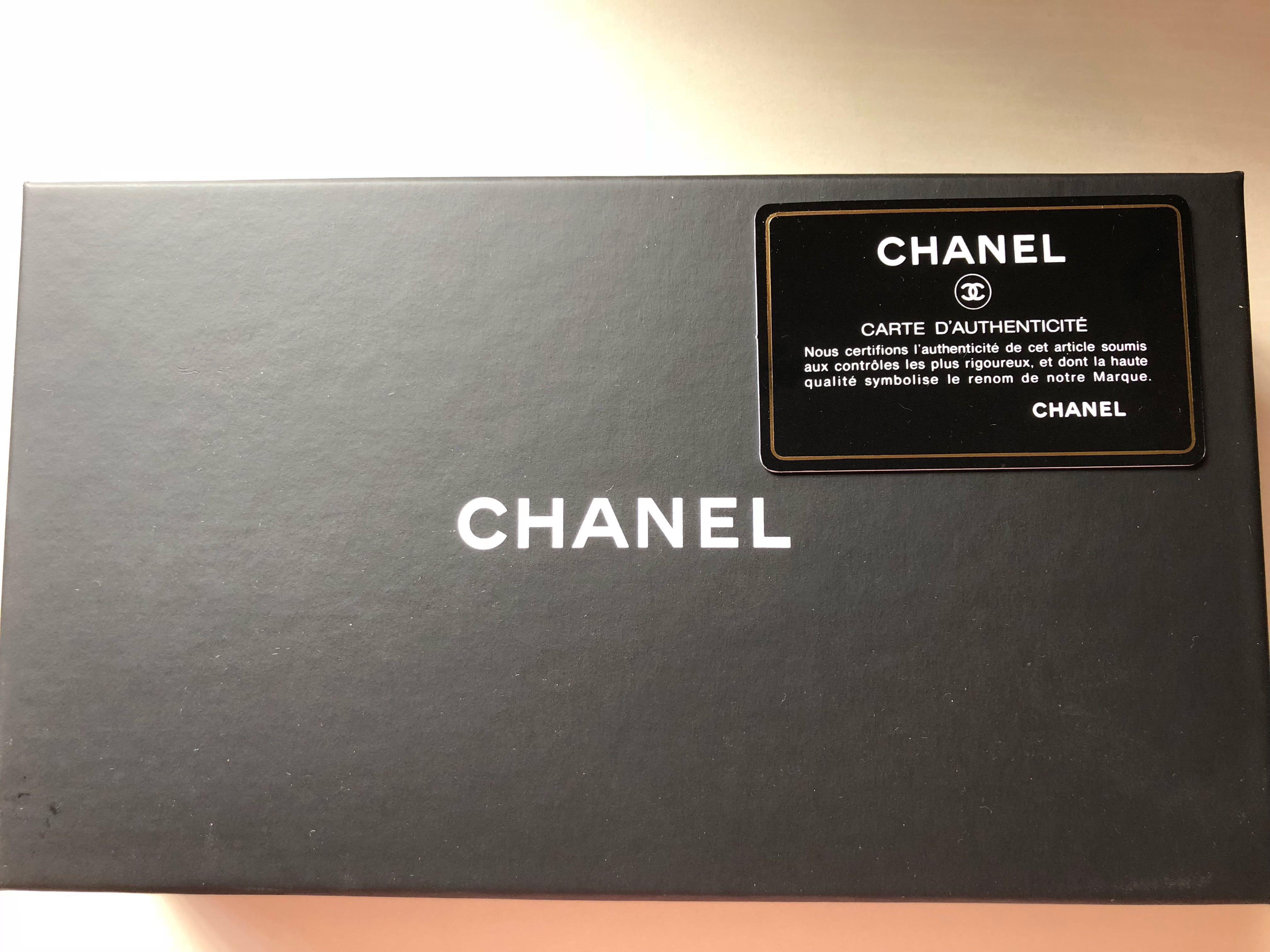 03e57d02cf65c7 Boy Chanel Zipped Wallet Lambskin & Black-Tone Metal, Luxury, Bags ...