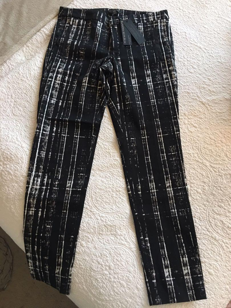 "Brand New Banana Republic ""Sloan"" Pants 6 (fits an 8)"