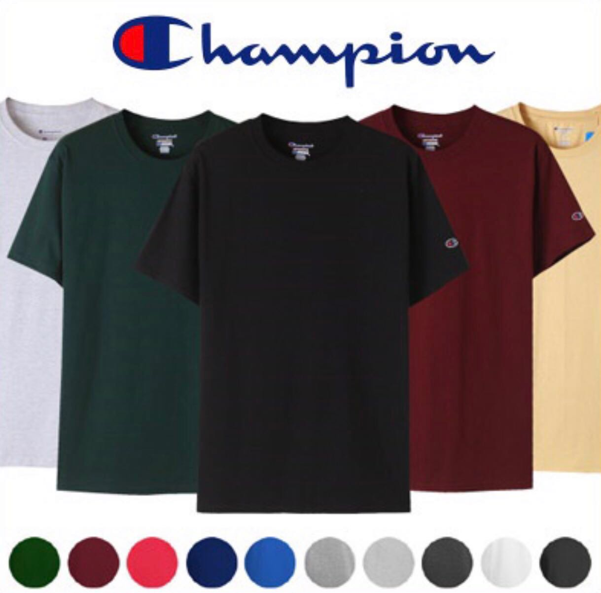 a9c30dcf Champion Shirt T425 PO, Men's Fashion, Clothes, Tops on Carousell