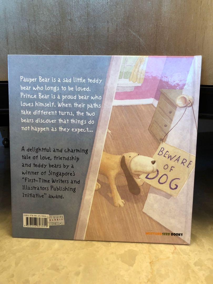 Children's story book - Prince Bear & Pauper Bear