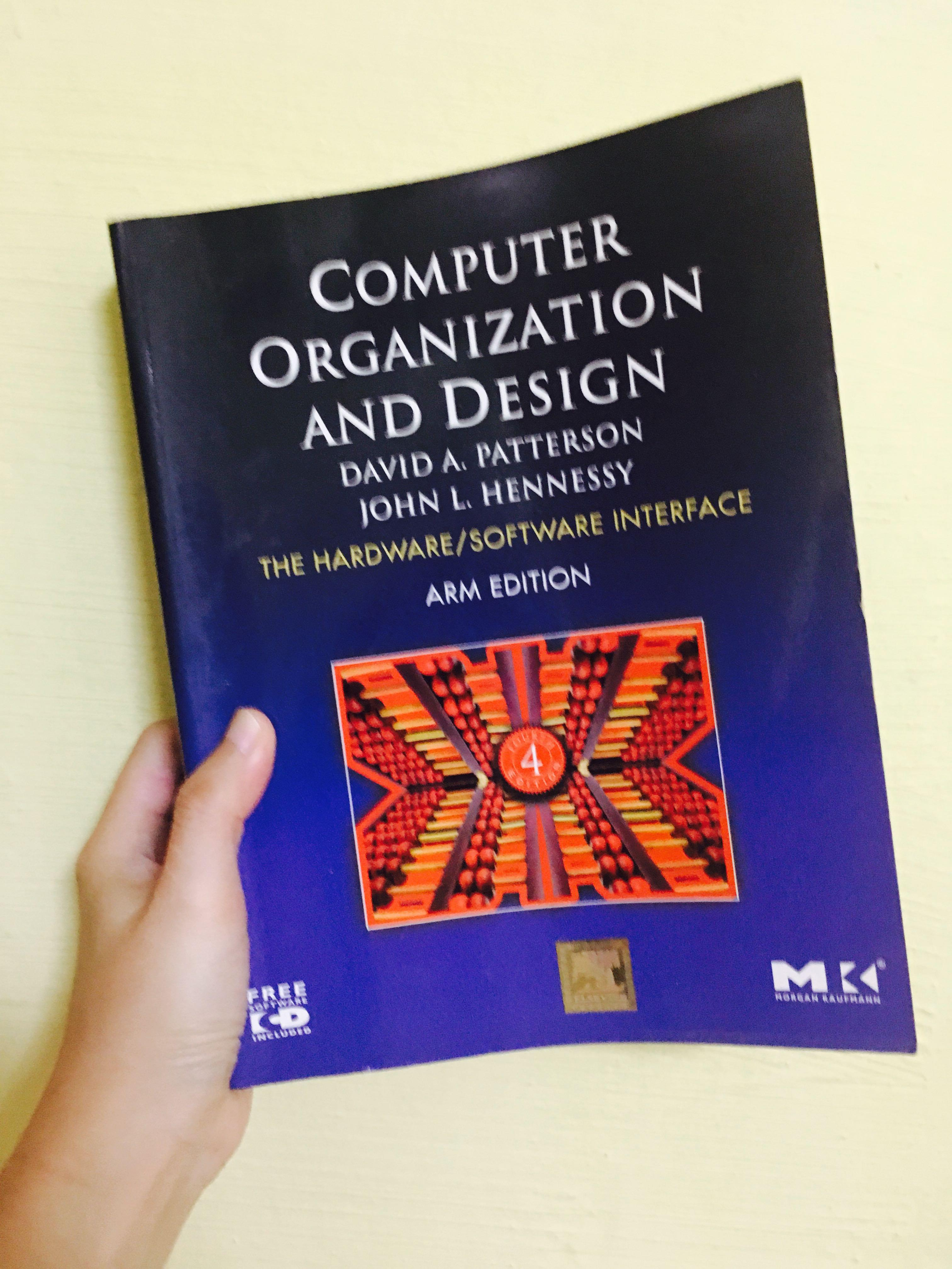 Computer Organization And Design Mips Edition The Hardware Software Interface Books Stationery Textbooks Tertiary On Carousell