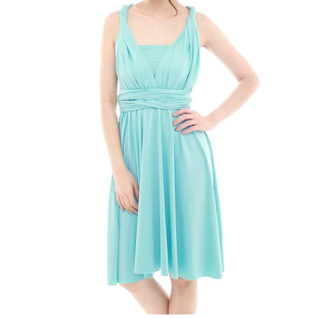 c2cb87ad04 Convertible Dress in sky blue