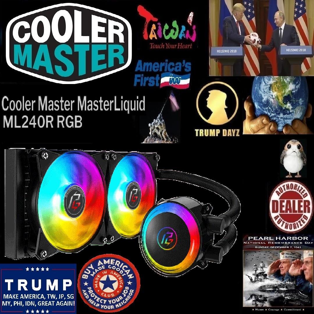 Cooler Master MasterLiquid ML240R RGB All-in-one CPU Liquid