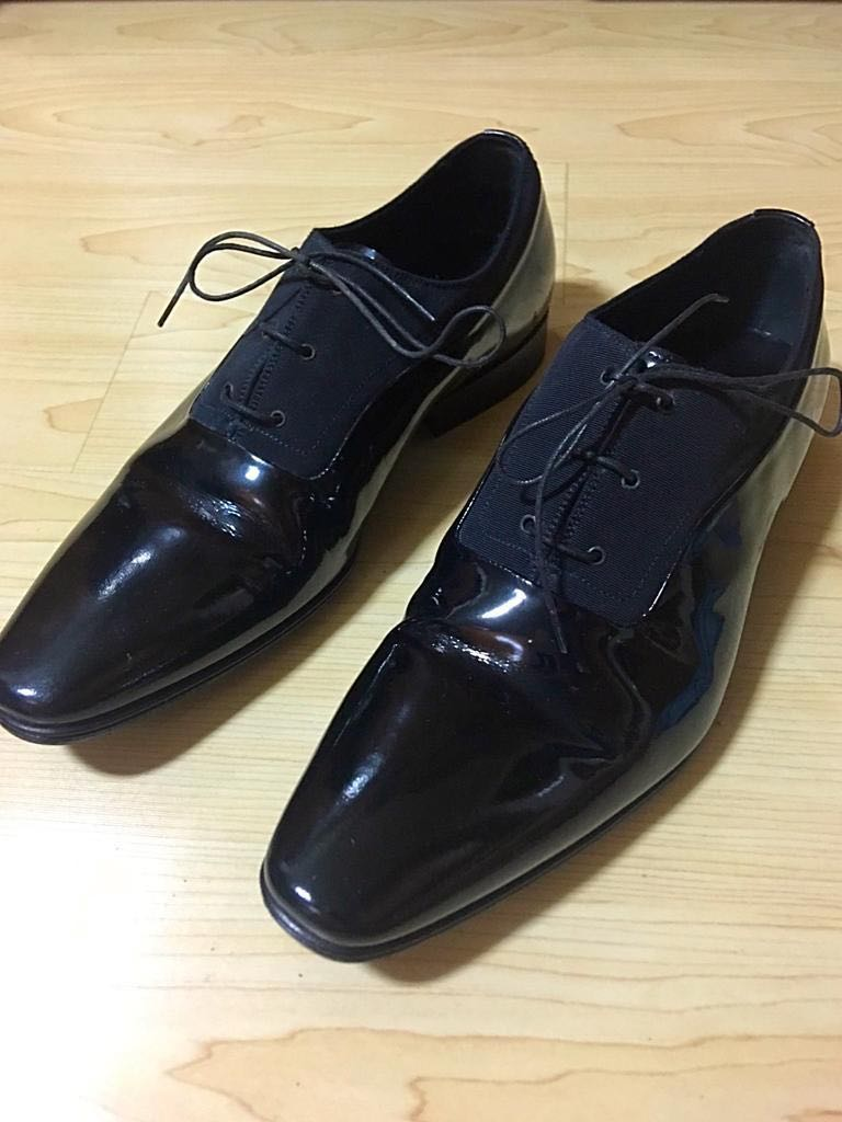 daa88616d Dior Homme Patent Leather Shoes, Men's Fashion, Footwear, Formal ...