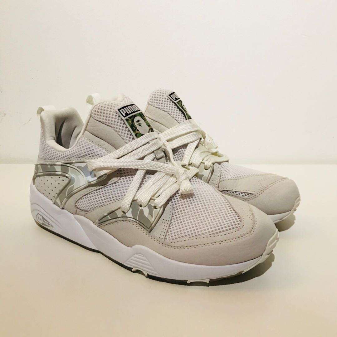 new products fe46d cdbfc DS Puma x Bape Blaze Of Glory US9, Mens Fashion, Footwear, Sneakers on  Carousell