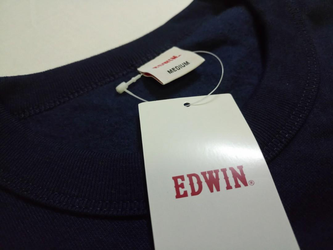 Edwin Crewneck Sweat 圓領衫 未剪牌