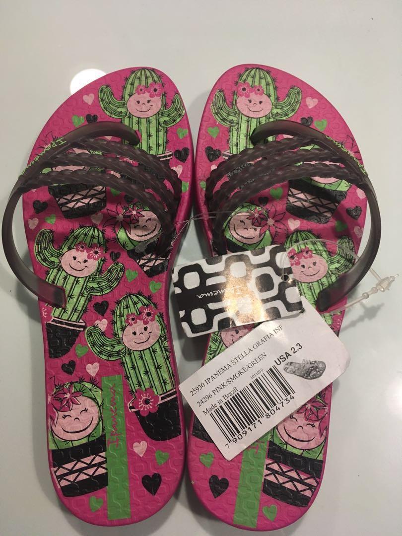 c3d36ae05 Ipanema Grendene Kids Slippers Original (Brand New)