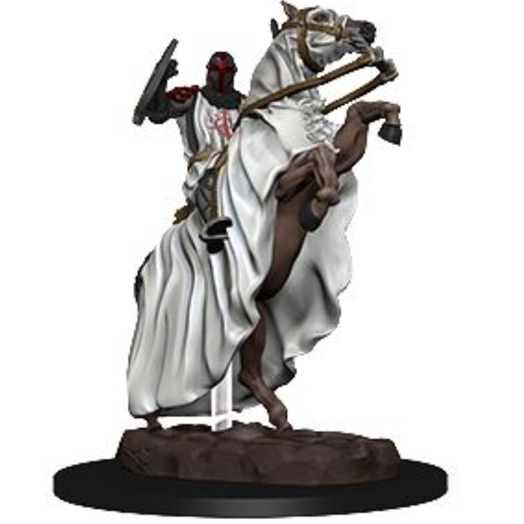 Knight on Horse - Dungeons & Dragons Miniatures