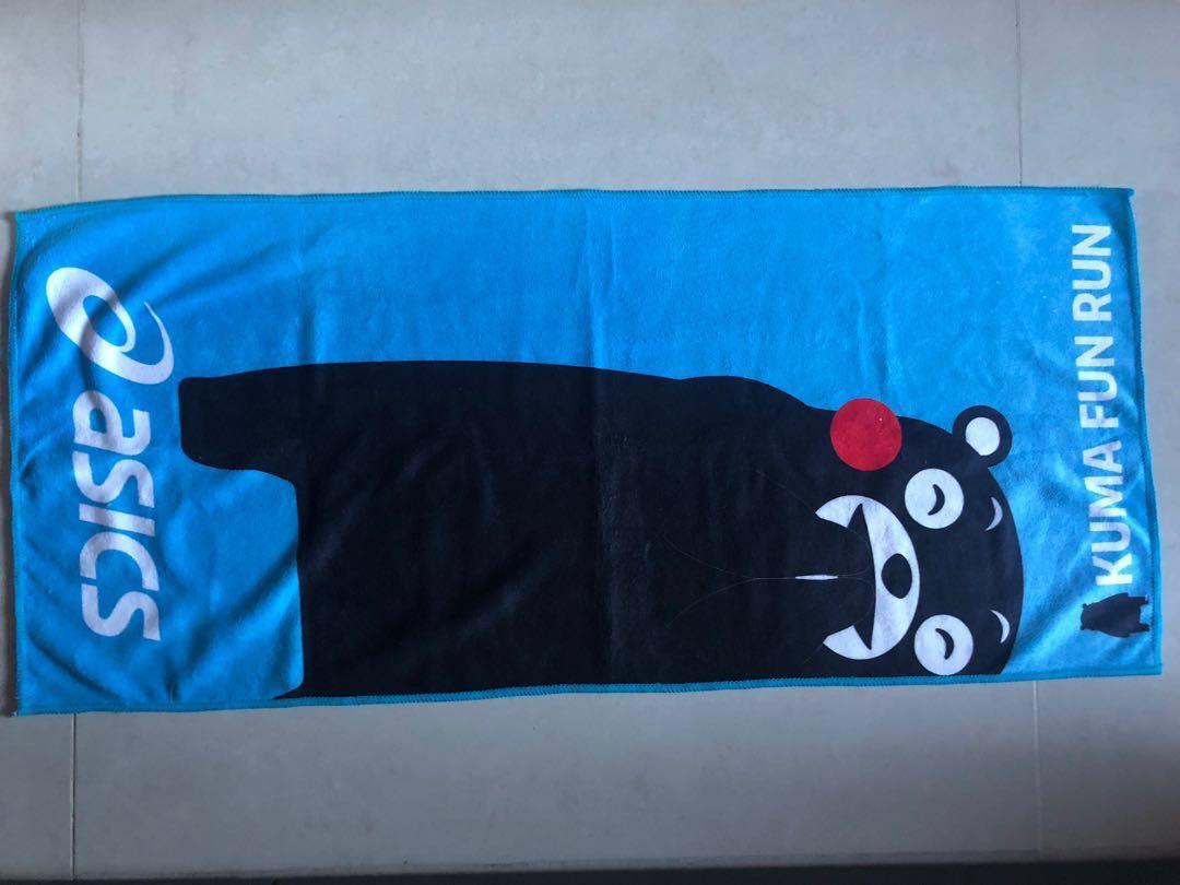 全新熊本熊Kumamon毛巾