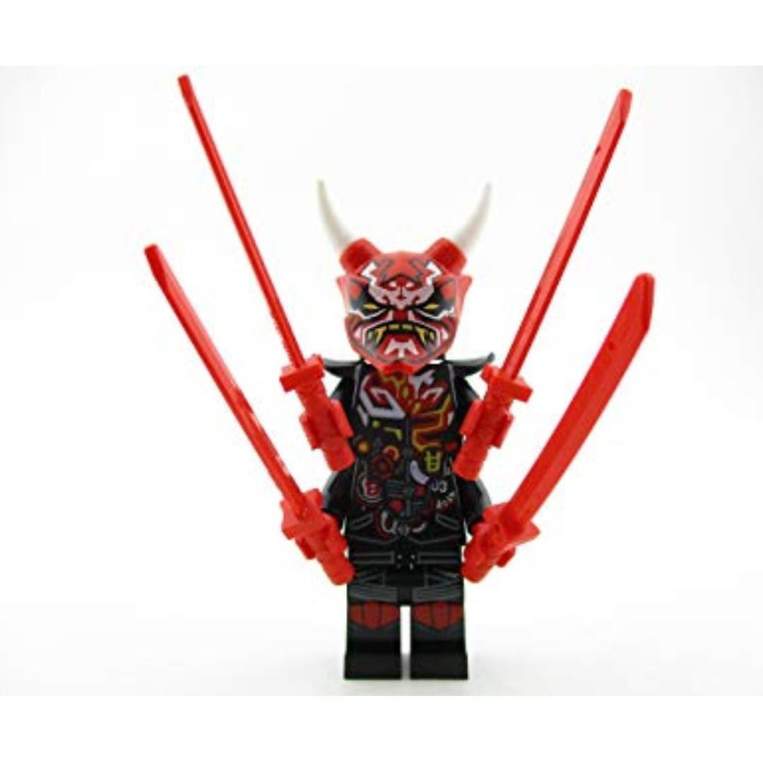 LEGO 70643 Ninjago Oni Mask Mr E Minifigure, Toys & Games ...